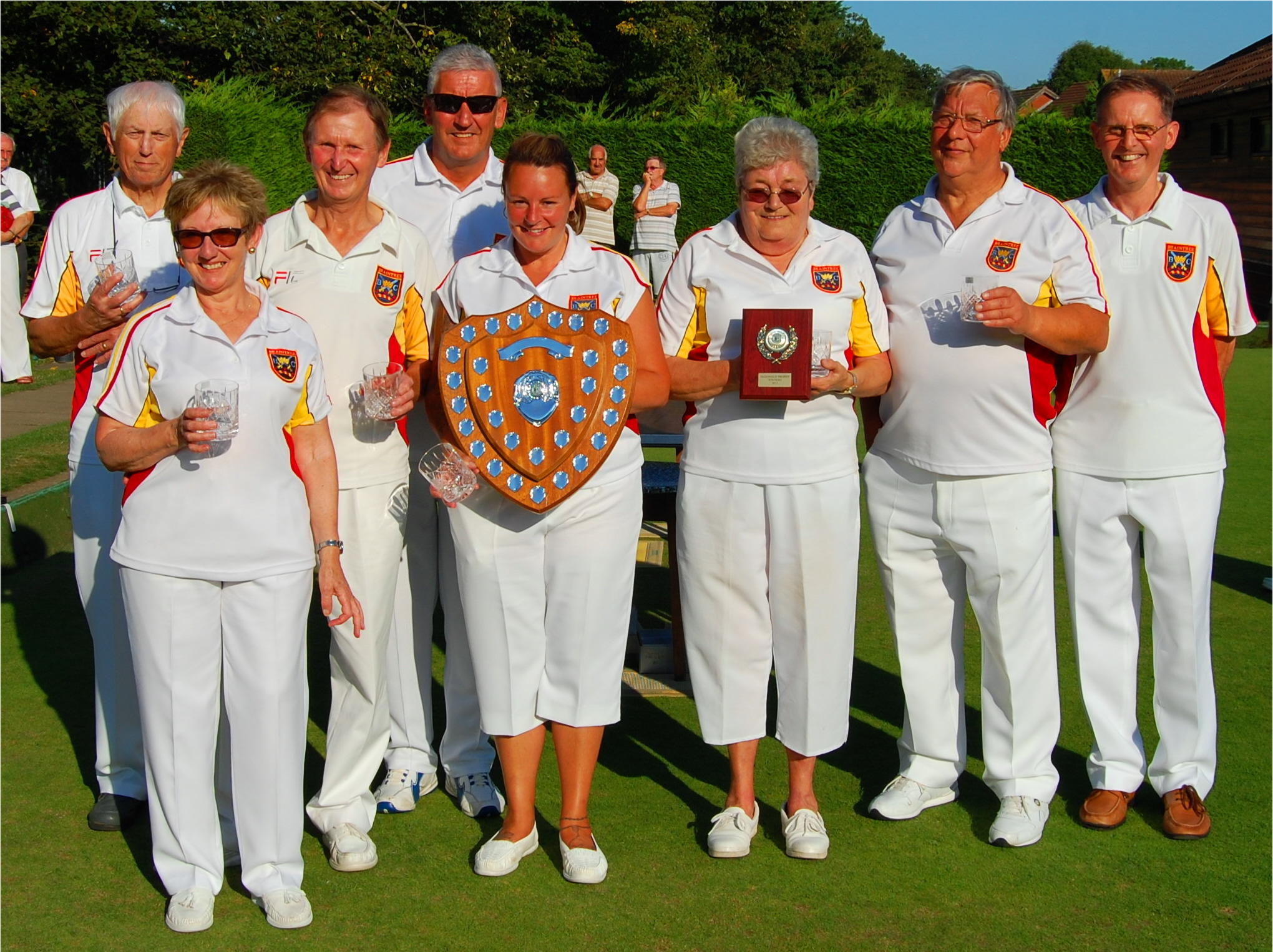 Braintree A Team Winners of CMBL Percy McDonald  Shield