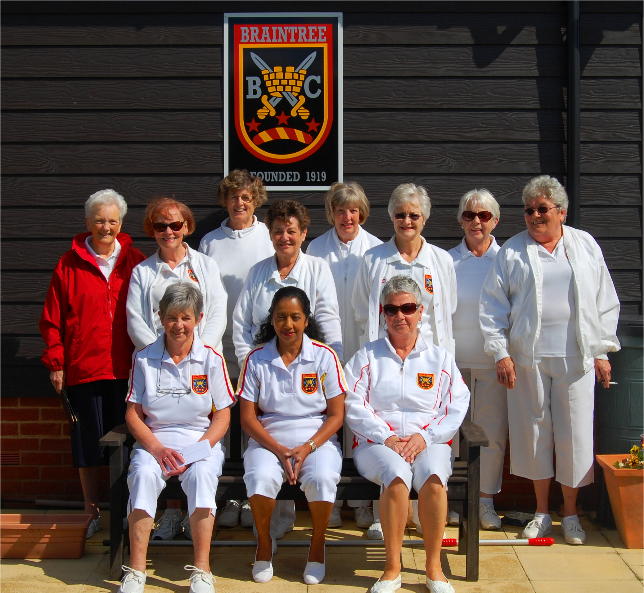 Braintrees Ladies Team for Top Club Comp. 2015